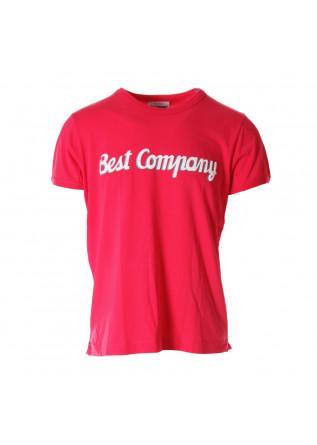 MEN'S CLOTHING T-SHIRTS FUCHSIA BEST COMPANY