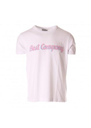 MEN'S CLOTHING T-SHIRTS WHITE BEST COMPANY