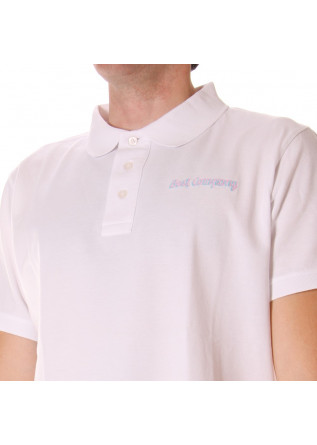 MEN'S CLOTHING POLOS WHITE BEST COMPANY