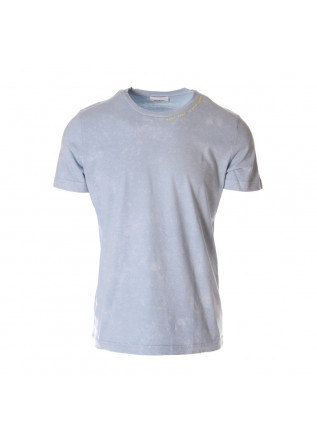 MEN'S CLOTHING T-SHIRTS LIGHT BLUE DONDUP