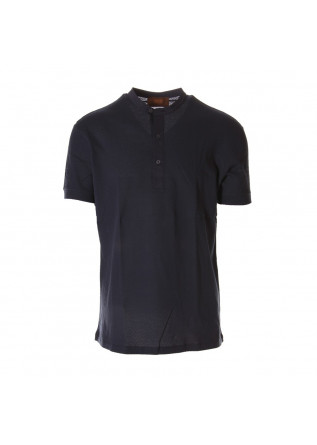 MEN'S CLOTHING POLOS BLUE HOSIO