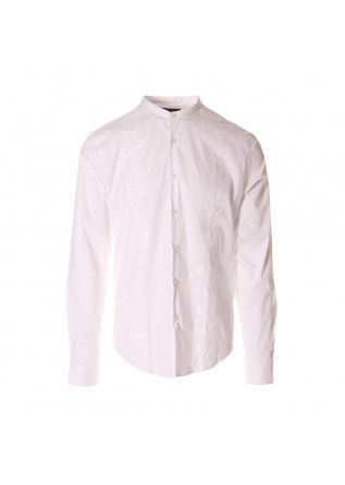 MEN'S CLOTHING SHIRT WHITE HOSIO