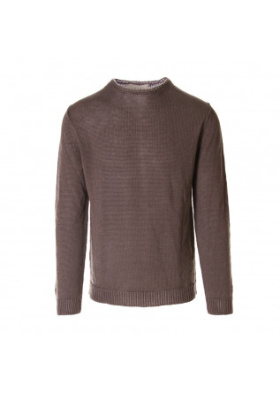 MEN'S CLOTHING KNITWEAR BROWN OBVIOUS BASIC