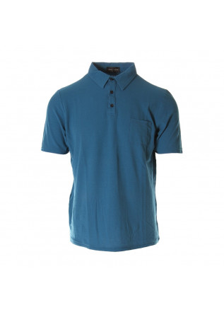 MEN'S CLOTHING POLOS TURQUOISE ROBERTO COLLINA