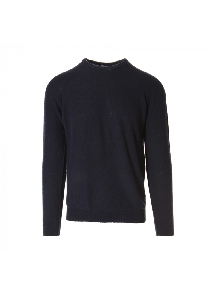 MEN'S CLOTHING KNITWEAR BLUE ROBERTO COLLINA