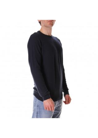 MEN'S CLOTHING KNITWEAR BLUE ROBERTO COLLINA