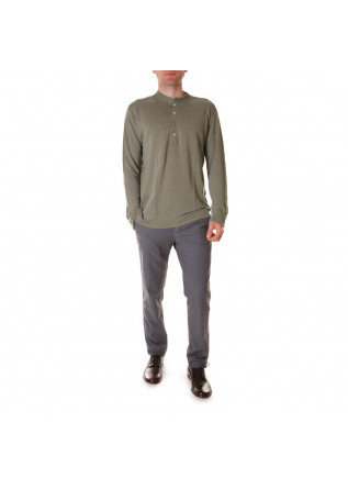 MEN'S CLOTHING KNITWEAR GREEN OFFICINA36