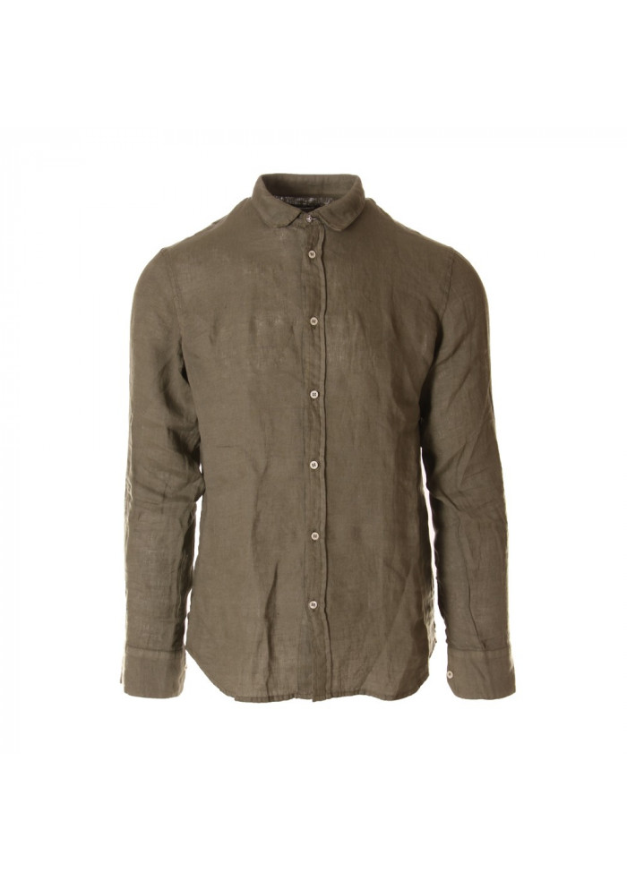 MEN'S CLOTHING SHIRT GREEN OFFICINA36