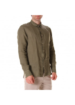 MEN'S CLOTHING SHIRT GREEN OFFICINA36