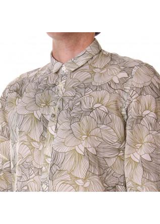 MEN'S CLOTHING SHIRT WHITE GREEN OFFICINA36