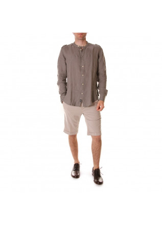 MEN'S CLOTHING SHIRT GREY OFFICINA36