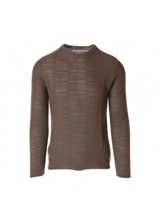 MEN'S CLOTHING KNITWEAR BROWN OFFICINA36