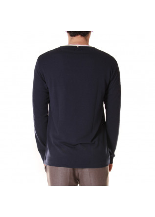 MEN'S CLOTHING KNITWEAR BLUE OFFICINA36