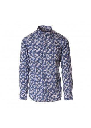 MEN'S CLOTHING SHIRT BLUE TINTORIA MATTEI 954