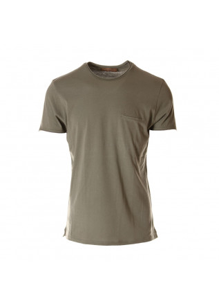 MEN'S CLOTHING T-SHIRTS GREEN DANIELE FIESOLI
