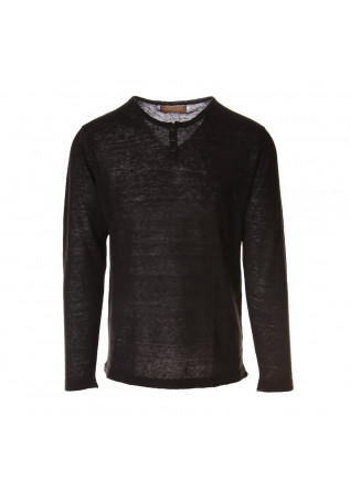MEN'S CLOTHING KNITWEAR BLACK DANIELE FIESOLI