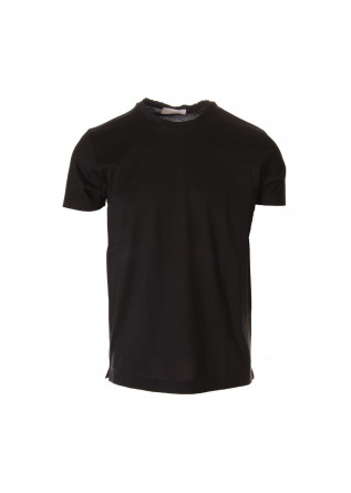MEN'S CLOTHING T-SHIRTS BLACK DANIELE FIESOLI