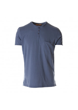 MEN'S CLOTHING T-SHIRTS BLUE DANIELE FIESOLI