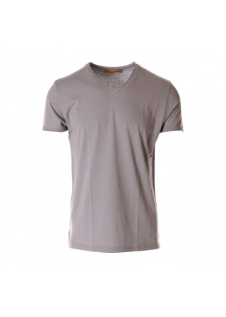 MEN'S CLOTHING T-SHIRTS GREY DANIELE FIESOLI