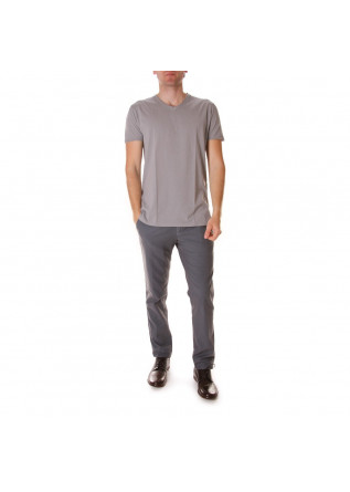 MEN'S CLOTHING T-SHIRTS LIGHT GREY DANIELE FIESOLI