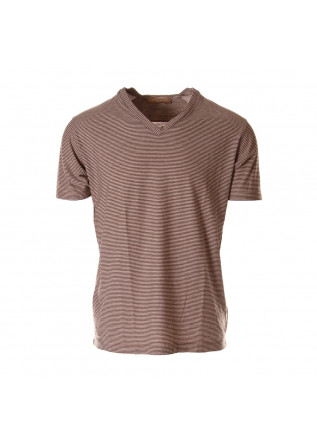 MEN'S CLOTHING T-SHIRTS BROWN DANIELE FIESOLI