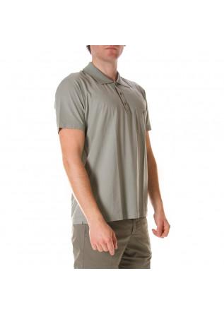 MEN'S CLOTHING POLOS GREEN DANIELE FIESOLI