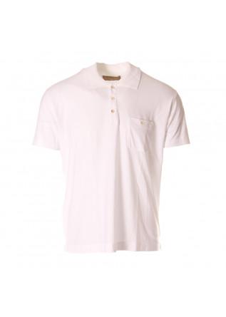 MEN'S CLOTHING POLOS WHITE DANIELE FIESOLI
