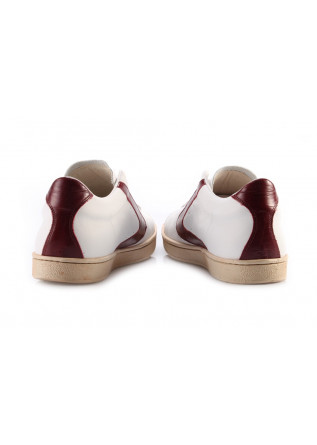 MEN'S SHOES SNEAKERS WHITE BORDEAUX VALSPORT