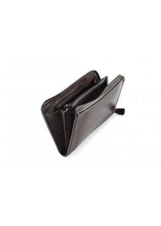 WOMEN'S ACCESSORIES  WALLET CALF BROWN REPTILE'S HOUSE