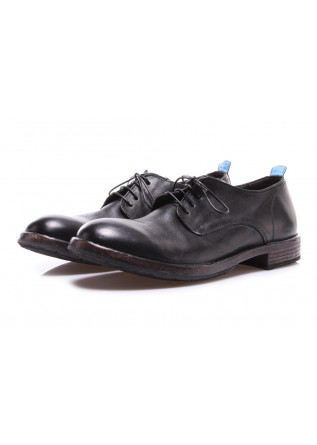 MEN'S SHOES LACE-UP BLACK MOMA