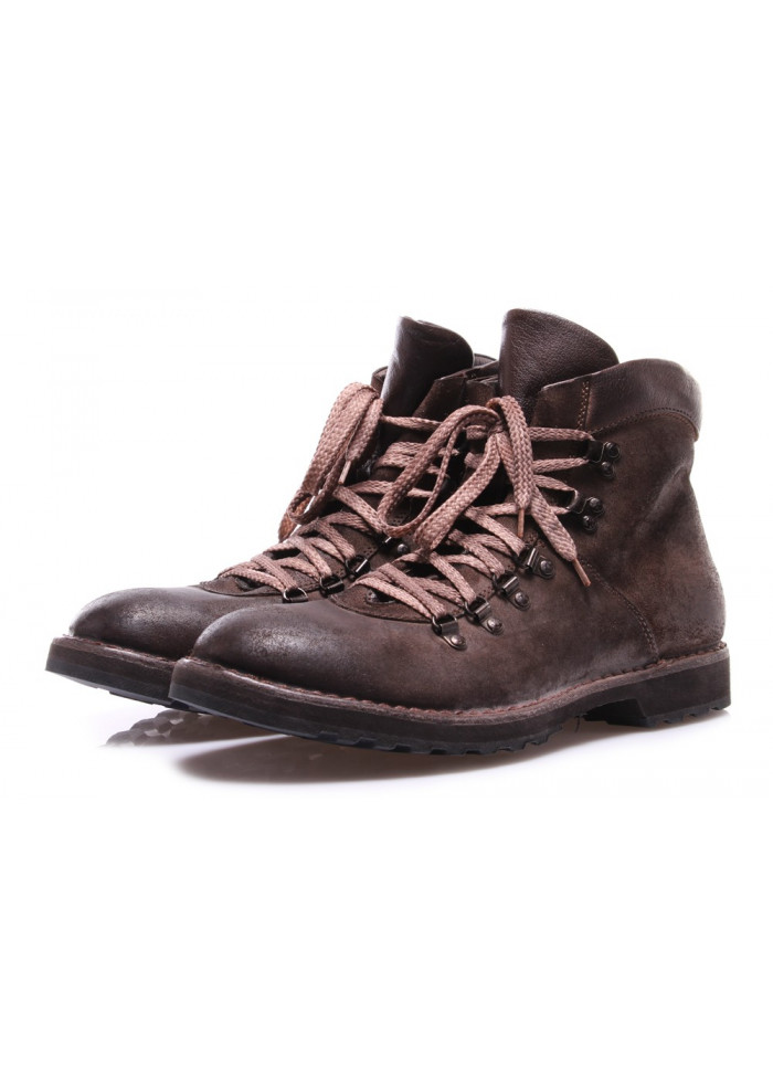 sale retailer 30a30 346e9 MEN'S SHOES BOOTS BROWN MOMA 58804-CC CROSTA BUFALO MARRONE