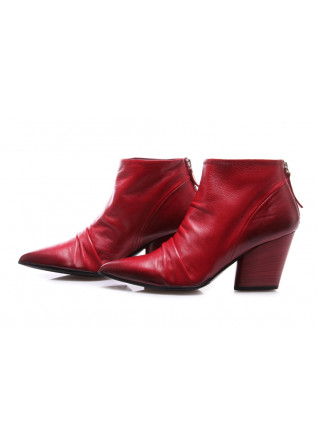 WOMEN'S SHOES BOOTS RED HALMANERA