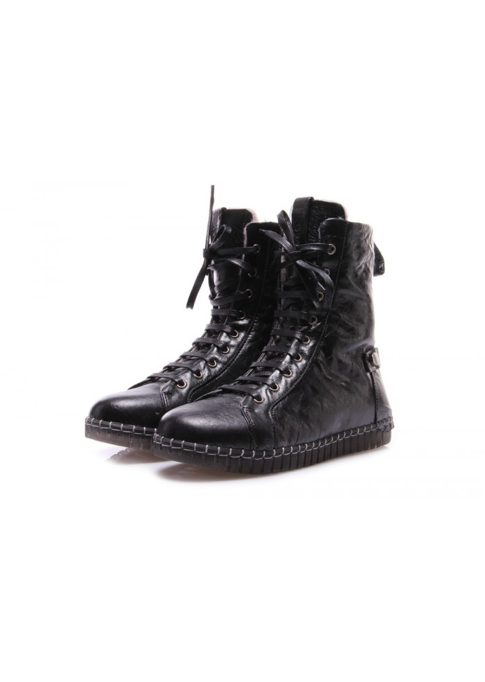 WOMEN'S SHOES BOOTS BLACK ANDIAFORA