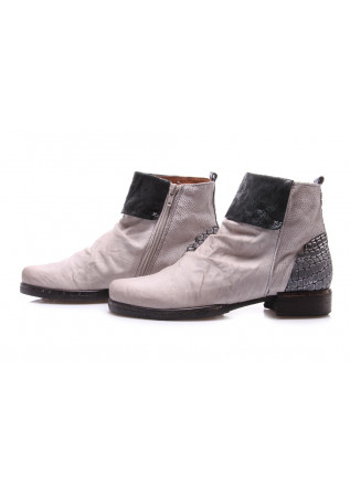 WOMEN'S SHOES BOOTS WHITE CLOCHARME / CHARME ROUTARD