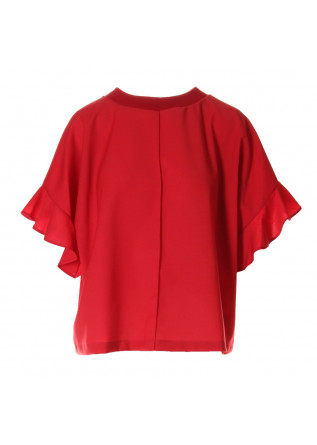 WOMEN'S CLOTHING SHIRT RED SEMICOUTURE