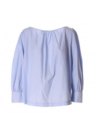 WOMEN'S CLOTHING SHIRT LIGHT BLUE SEMICOUTURE
