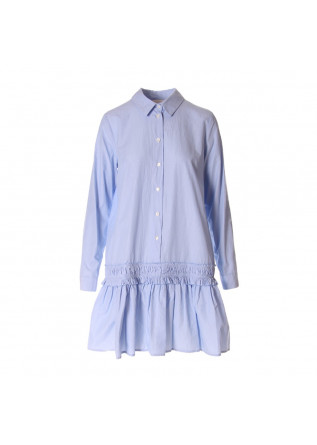 WOMEN'S CLOTHING DRESS LIGHT BLUE SEMICOUTURE