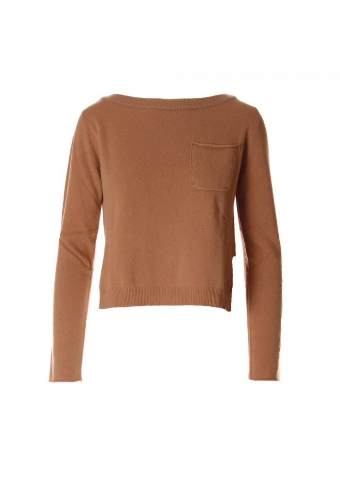 Abbigliamento Marrone Abbigliamento Donna Maglione Donna Semicouture gqH5TwP5