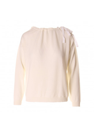 WOMEN'S CLOTHING KNITWEAR BEIGE SEMICOUTURE
