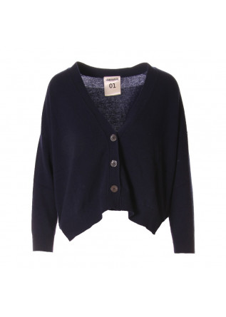 WOMEN'S CLOTHING KNITWEAR BLUE SEMICOUTURE