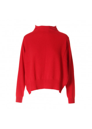 WOMEN'S CLOTHING KNITWEAR RED SEMICOUTURE