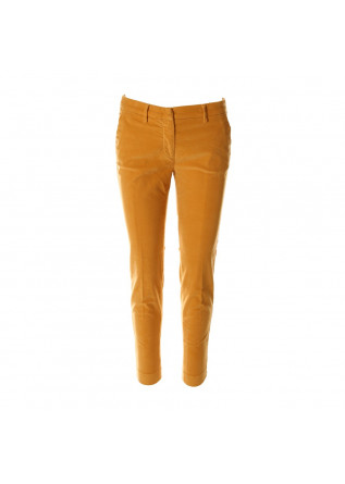 WOMEN'S CLOTHING TROUSERS CHINO YELLOW MASON'S