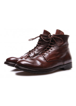 MEN'S SHOES BOOTS BROWN OFFICINE CREATIVE