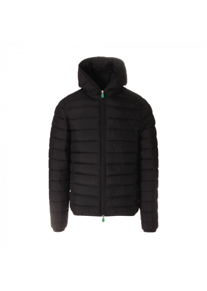 MEN'S CLOTHING JACKETS BLACK SAVE THE DUCK
