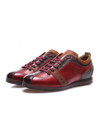 MEN'S SHOES SNEAKERS RED NICOLA BARBATO
