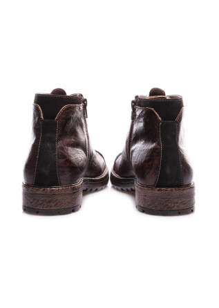 MEN'S SHOES BOOTS BROWN NICOLA BARBATO
