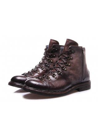 MEN'S SHOES BOOTS BROWN LORENZI