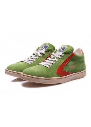 MEN'S SHOES SNEAKERS GREEN SUEDE VALSPORT