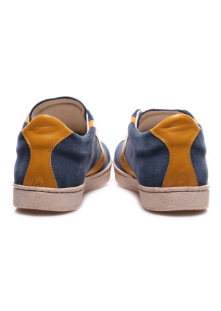 MEN'S SHOES SNEAKERS BLUE / YELLOW SUEDE VALSPORT