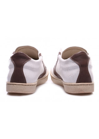 MEN'S SHOES SNEAKERS WHITE / BROWN VALSPORT